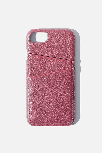 The Phone Case Cardholder SE, 6,7,8, MULBERRY
