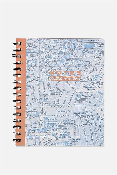 A5 Campus Notebook Recycled, NOTE MAP