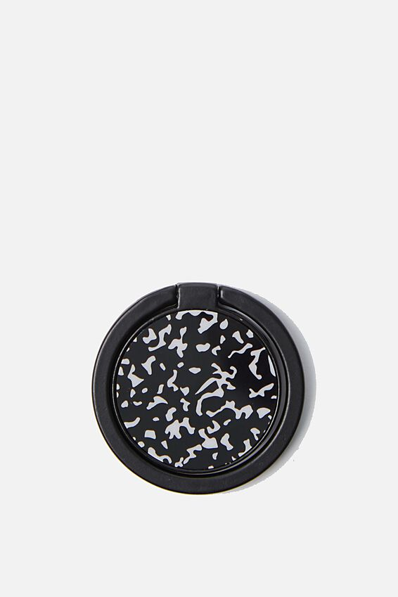 Metal Phone Ring, BLACK COMPOSITION