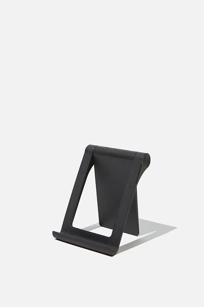 Collabsible Phone Stand, BLACK