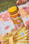 On The Move Metal Drink Bottle 1L, STEVIE FLORAL ORANGE & PINK