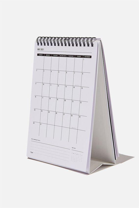 2021 Get A Date Flip Calendar, BW LIFE QUOTES
