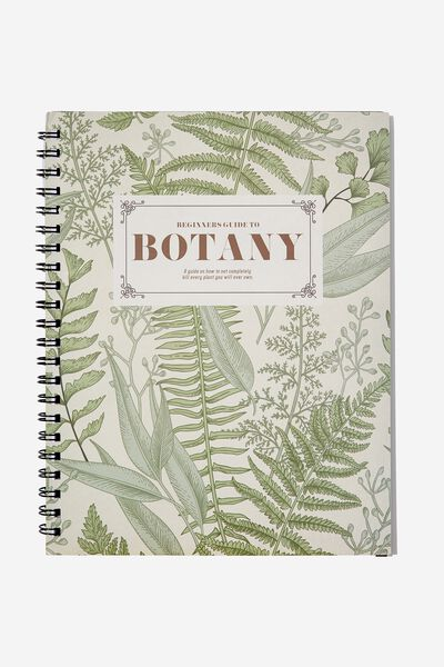A4 Campus Notebook, BOTANY