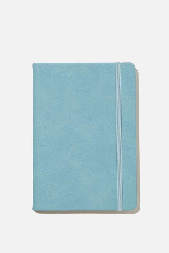 A5 Buffalo Journal, DENIM BLUE