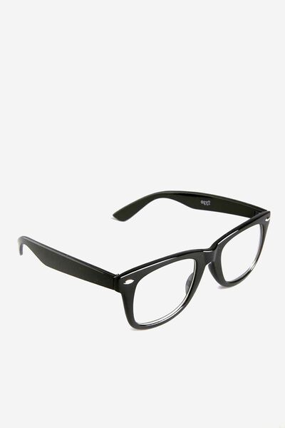 Nerd Glasses, BLACK