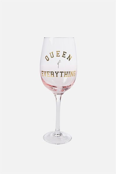 Mega Wine Glass, OMBRE QUEEN OF EVERYTHING!