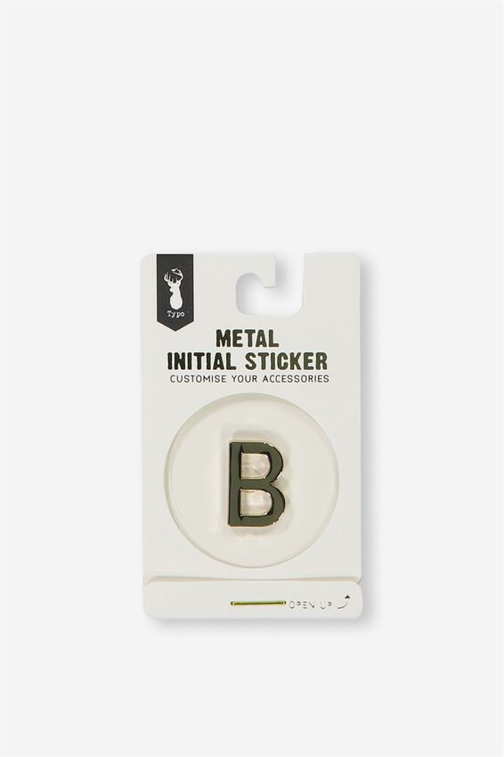 Metal Stickers, GOLD B