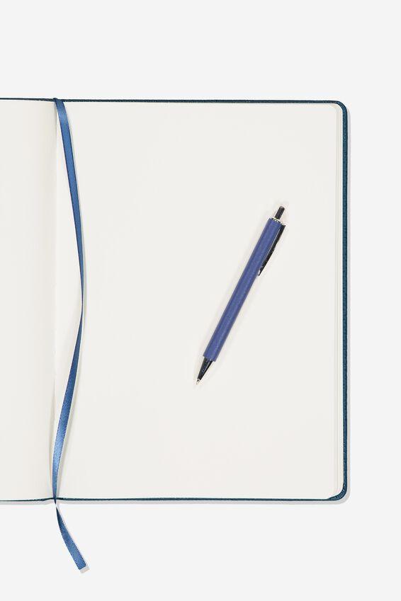 A4 Blank Buffalo Journal, NAVY