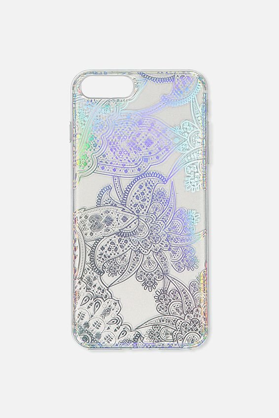 Printed Phone Cover 6,7,8 Plus, IRIDESCENT LACE
