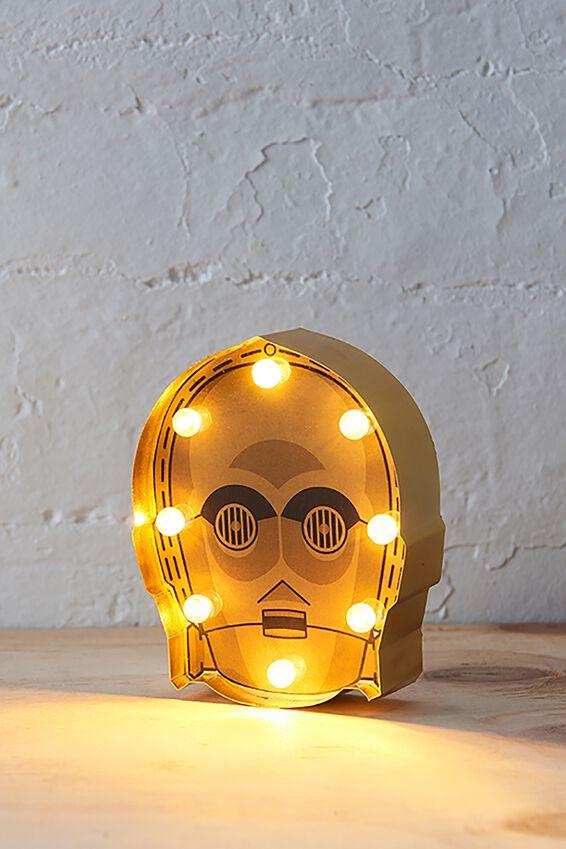 Star Wars Marquee Light, LCN C3PO