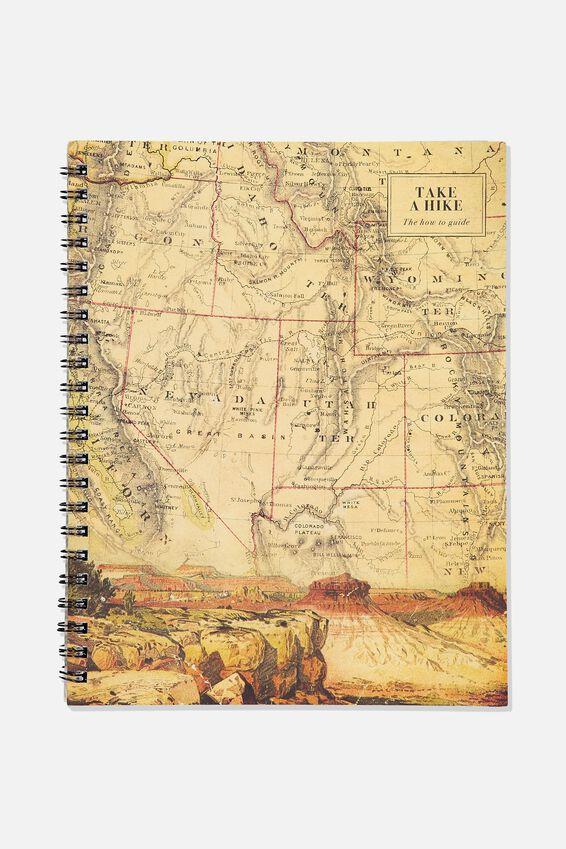 A4 Campus Notebook, TAKE A HIKE
