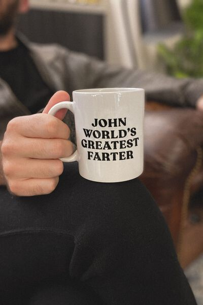 Personalised Mug, WORLDS GREATEST FARTER