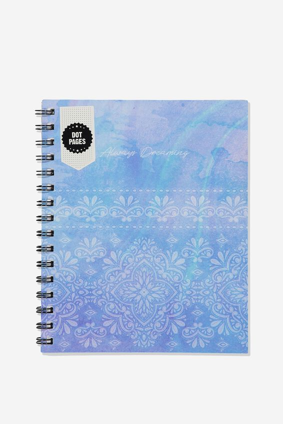 A5 Campus Notebook Dot Internal, MANDALA LACE