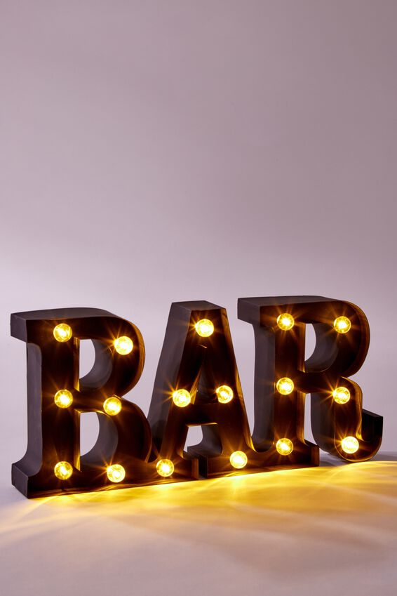 Large Marquee Light, BAR