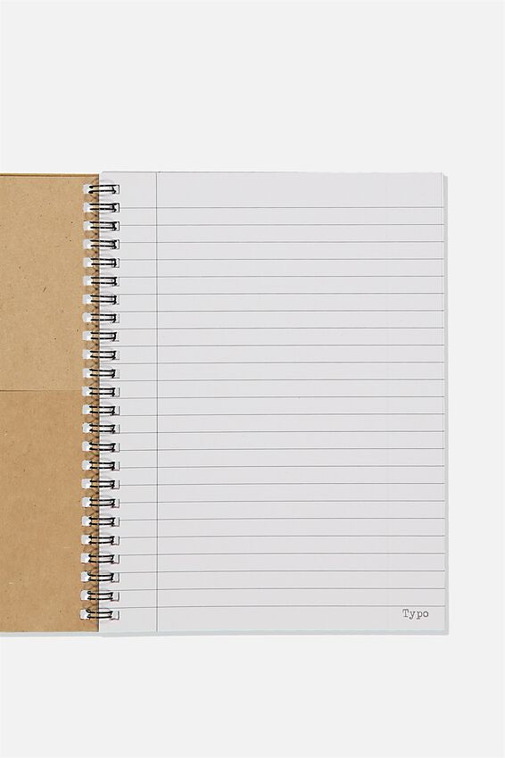 A5 Spinout Notebook Recycled, BREAK LOG