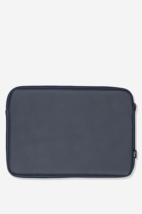 Take Charge 15 Inch Laptop Cover, NAVY WEAVE