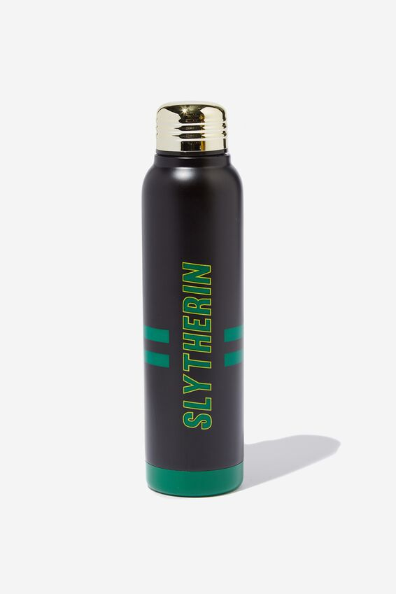 Harry Potter Premium Small Metal Drink Bottle, LCN WB SLYTHERIN