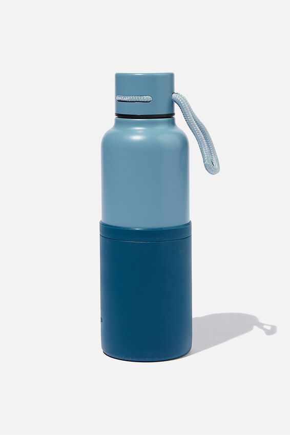 The Loop Metal Drink Bottle, NAVY BLUE