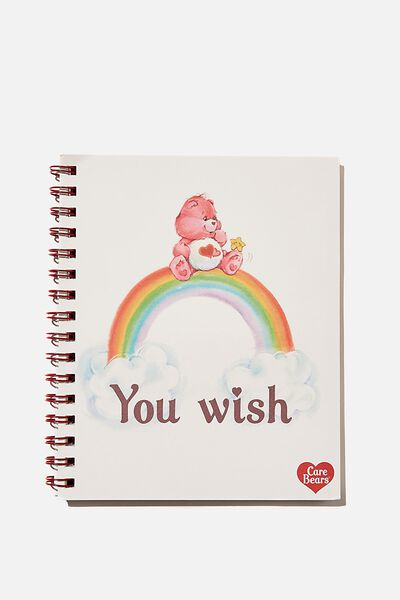 A5 Campus Notebook Recycled, LCN CAREBEARS YOU WISH