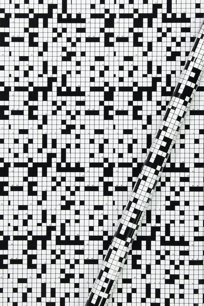 Roll Wrapping Paper, BLACK CHECK