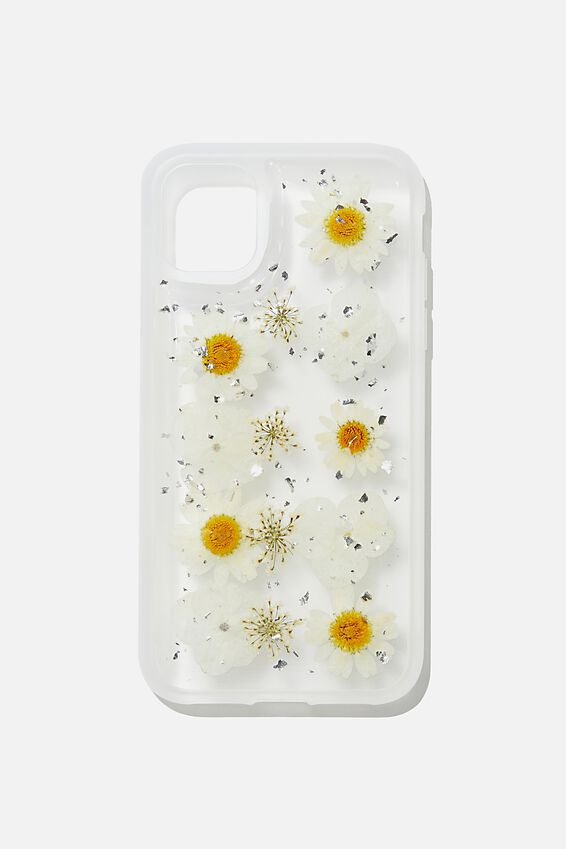Protective Phone Case iPhone 11, TRAPPED DAISY