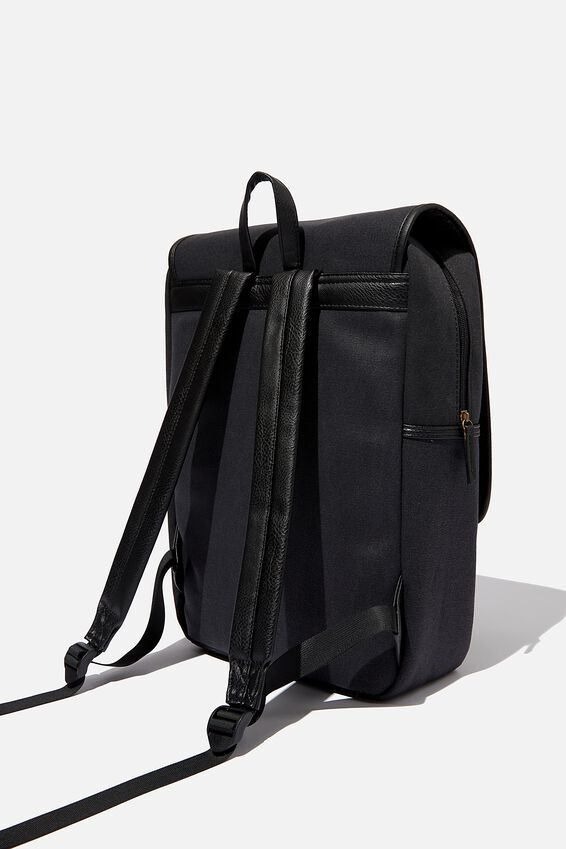 Heritage Backpack, WASHED BLACK