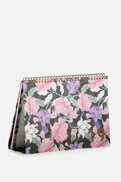 Diaries Planners Buffalo Spiral Typo