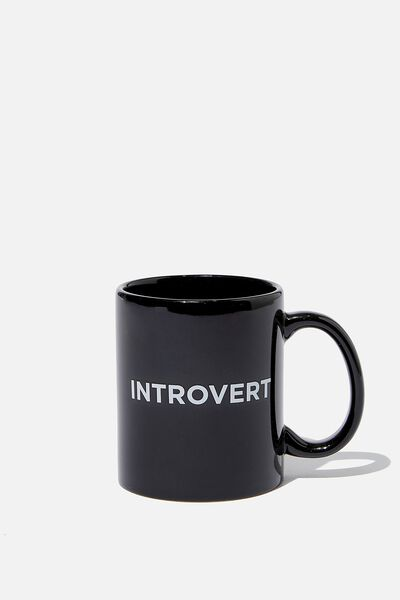 Anytime Mug, INTROVERT EXTROVERT