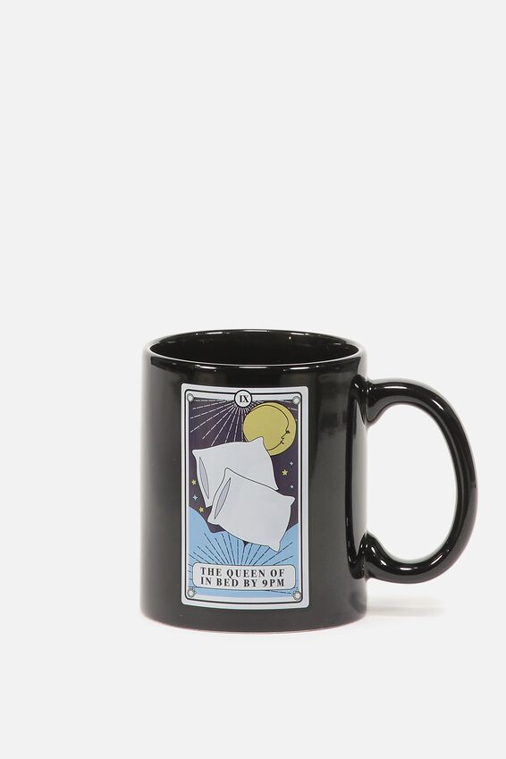 Anytime Mug, QUEEN IN BED TAROT