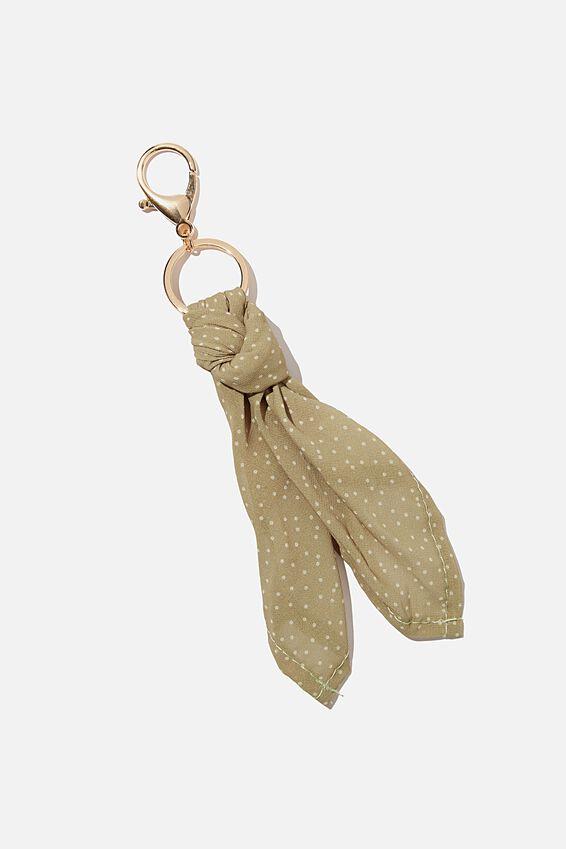Bag Charm, SCARF MICRO DAISY TUSSOCK