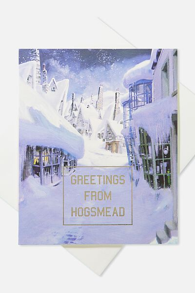 2018 Christmas Card, LCN HP HOGSMEAD