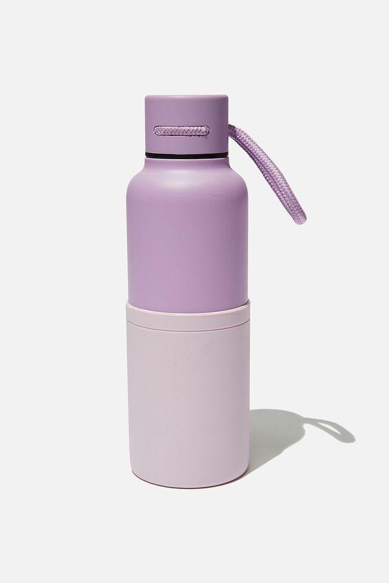 The Loop Metal Drink Bottle, PETUNIA & HEATHER