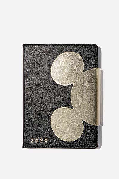 2020 A5 Shaped Diary, LCN DIS MK MICKEY HEAD