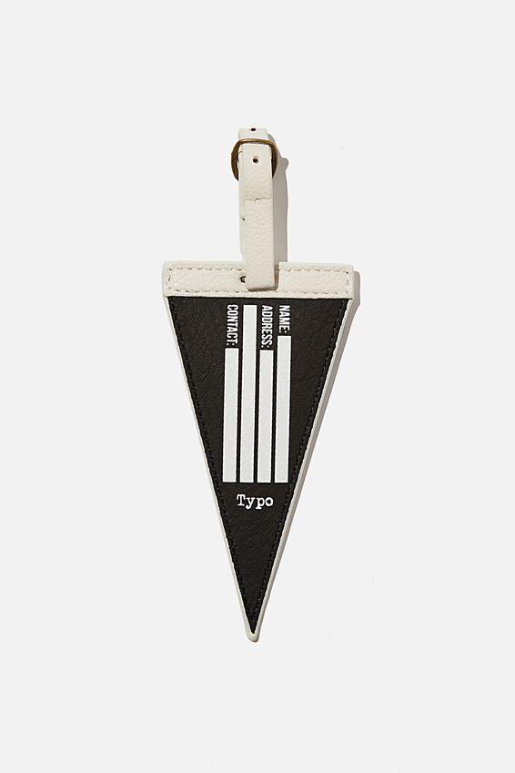 Shape Shifter Bag Tag, ZERO REGRETS