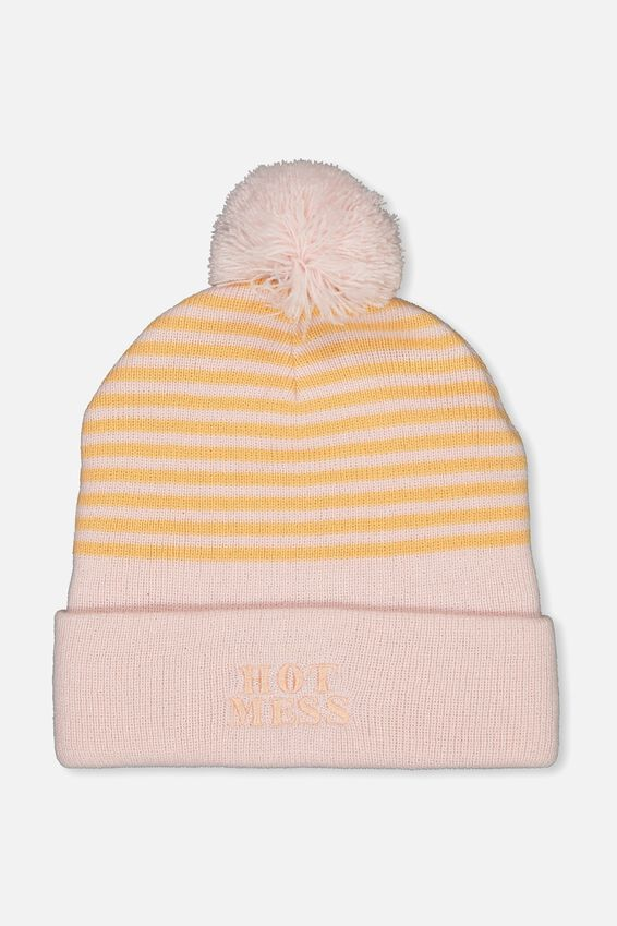 Novelty Beanie, HOT MESS