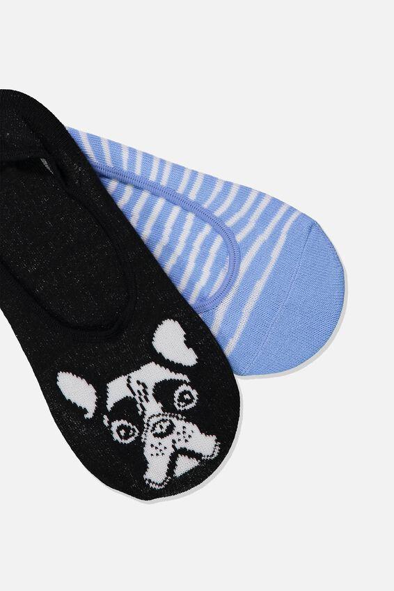 Novelty Hidden Sock, FRENCHIES