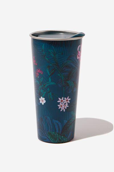 The Sipper Travel Mug, JUNGLE FLORAL