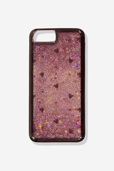 Shake It Phone Case 6, 7, 8 Plus, LCN DIS ROSE GOLD MICKEY HEAD