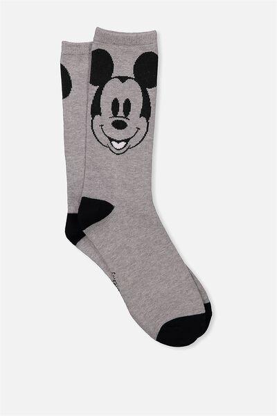 Womens Novelty Socks, LCN MICKEY EARS