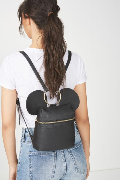 Micro Backpack, LCN MICKEY HEAD