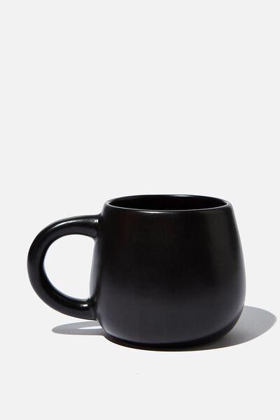 Subtle-Tea Mug, MATTE BLACK