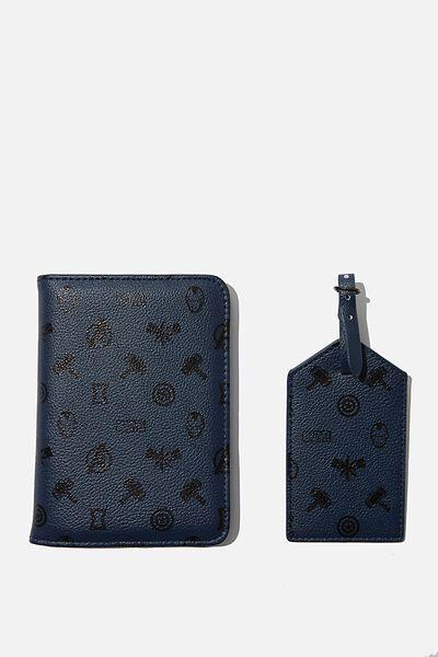 Rfid Passport & Luggage Tag Set, LCN MARVEL ICONS