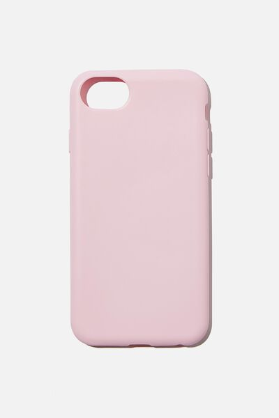 Recycled Phone Case iPhone 6, 7 ,8, SE, PLASTIC PINK