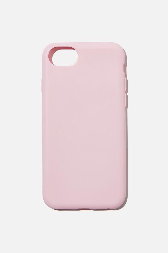 Slimline Recycled Phone Case Iphone SE, 6,7,8, PLASTIC PINK