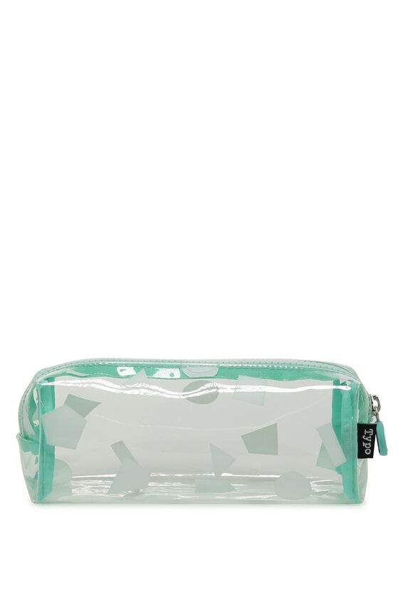 Clear Bailey Case, CLEAR GEO PRINTED