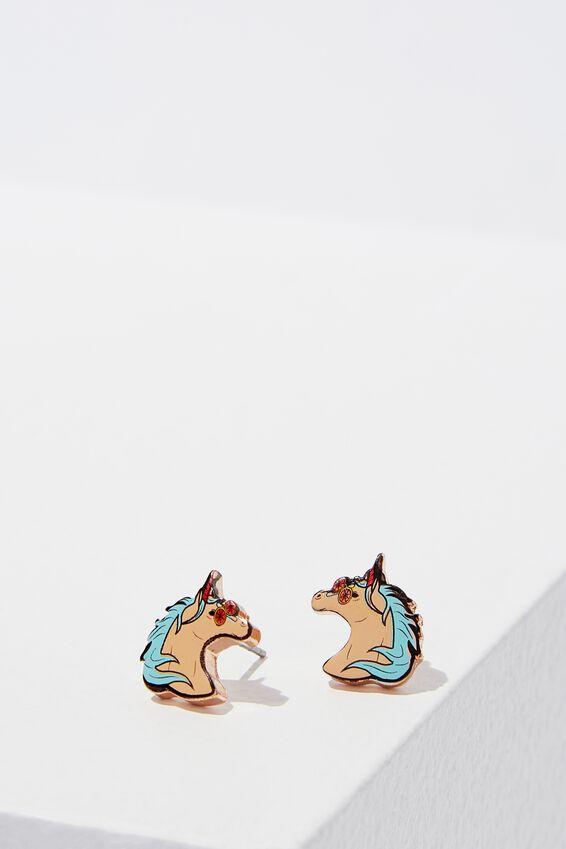 Novelty Earrings, UNICORNS