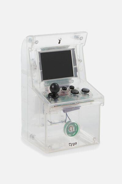 Arcade Game 2.0, TRANSPARENT CLEAR