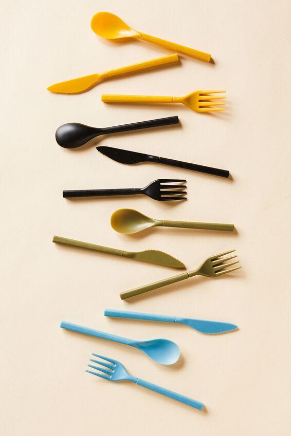 Cutlery Sets, DENIM BLUE