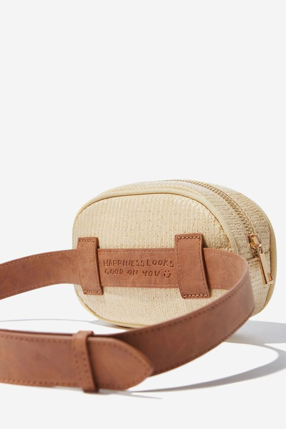 Belt Bag, NATURAL WEAVE