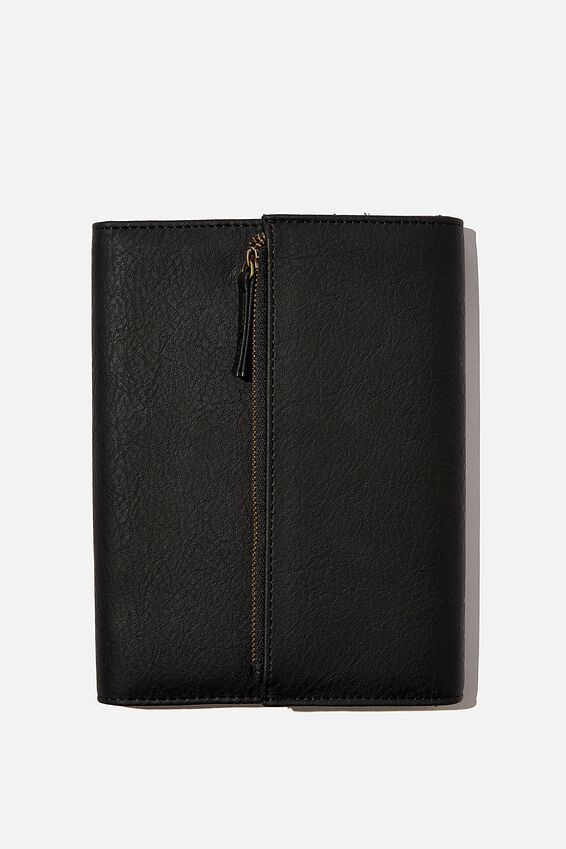 2021 Zip Pocket Diary, BLACK